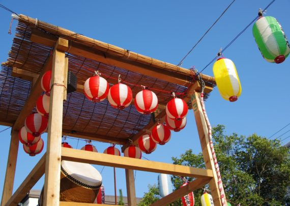 やぐら・盆踊りをいつまでも。夏祭りの伝統を継承しよう